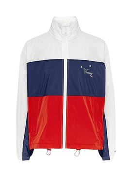 Parka Tommy Jeans Colorblock for Woman