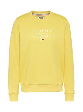 Sweatshirt Tommy Jeans Fruit Yellow for Woman