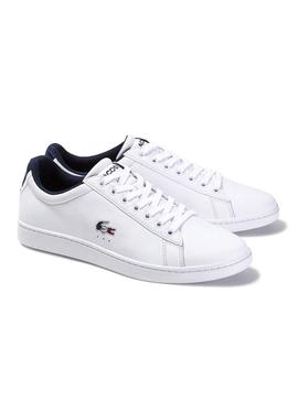 Sneaker Lacoste Carnaby Tri White for Man