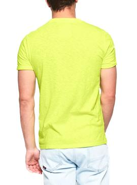 T-Shirt Superdry Low Roller Neon Man