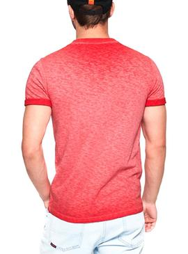 T-Shirt Superdry Low Roller Coral Man