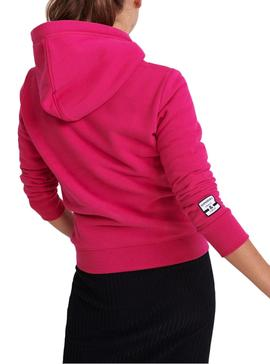Sweatshirt Superdry Track and Field Rosa Woman