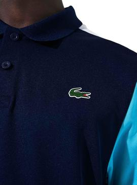 Polo Lacoste Sport Pique Blue Navy Man