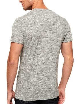 T-Shirt Superdry Gray Patch For Men