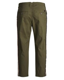Trousers Jack and Jones Arrow Green Man