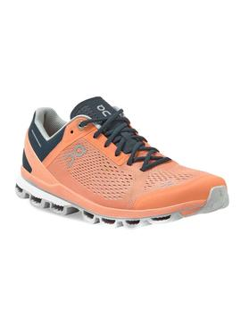 Sneaker On Running CloudSurfer Coral Navy Woman