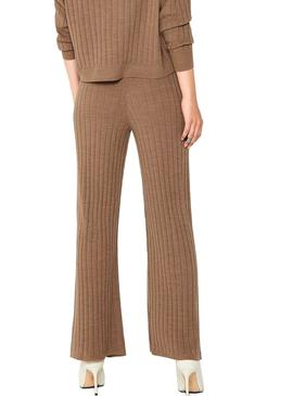 Pantses Only Tessa De Knitted Tostado for Woman