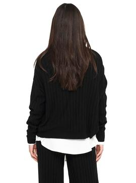 Sweater Only Tessa Textured Black for Woman