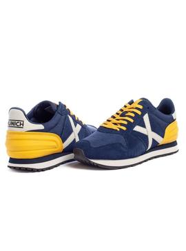 Sneaker Munich Massana 387 Blue for Man