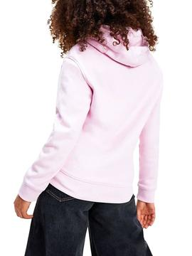 Sweatshirt Tommy Jeans Outline Pink for Woman