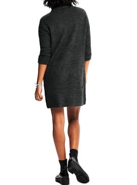 Dress Only Jana De Knitted Gray for Woman