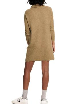 Dress Only Jana De Knitted Camel for Woman