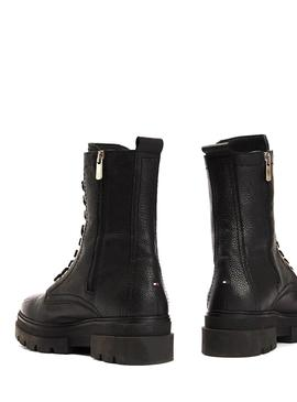 Bootss Tommy Hilfiger Rugged Black for Woman