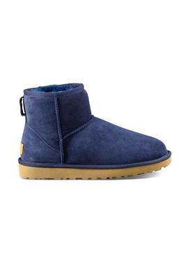Bootss UGG Classic Mini Blue for Woman
