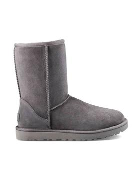 Bootss UGG Classic Short II Gray for Woman