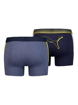 Boxer Puma Bold Cat Blu Navy Man