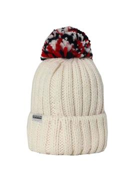 Napapijri Hat Semiury Beige for Boy and Girl