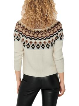 Sweater Only Lamber Beige for Woman