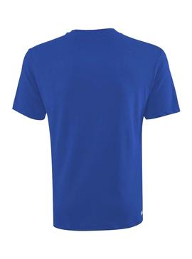 T-Shirt Lacoste Basic Blue for Man
