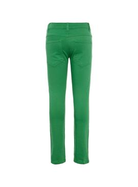 Trousers Name It Theo Green Boy
