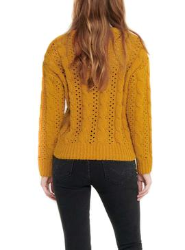 Sweater Only Chanet Yellow for Woman