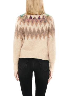 Sweater Only Mary Beige for Woman
