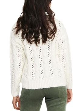 Sweater Only Chanet White for Woman