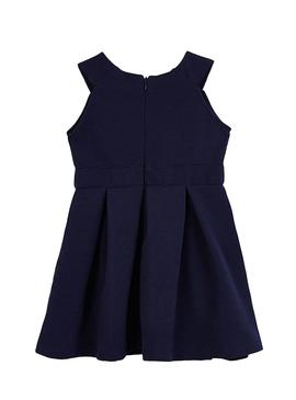Dress Mayoral ottoman point Blu Navy
