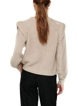 Sweater Only Lexine Beige for Woman