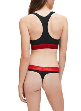 Thong Calvin Klein Gala Black for Woman