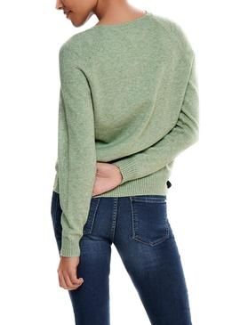 Sweater Only Lesly Kings Green for Woman