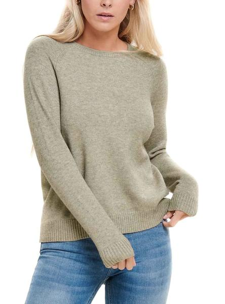 Sweater Only Lesly Kings Beige for Woman