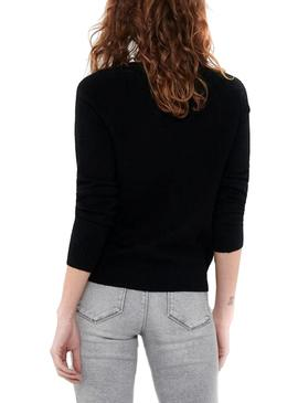 Sweater Only Lesly Kings Black for Woman