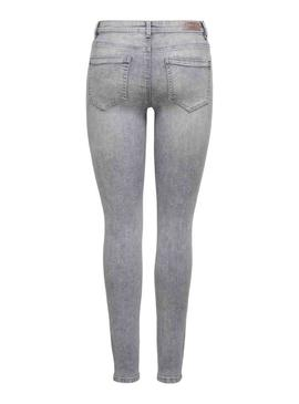 Jeans Only Wow BJ694 Gray for Woman
