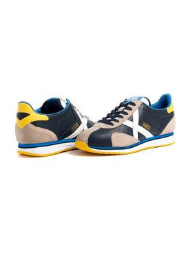 Sneaker Munich Sapporo 111 Blu Navy for Man