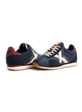 Sneaker Munich Sapporo 106 Blu Navy for Man