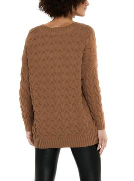 Sweater Only Bina Brown for Woman
