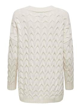 Sweater Only Bina White for Woman