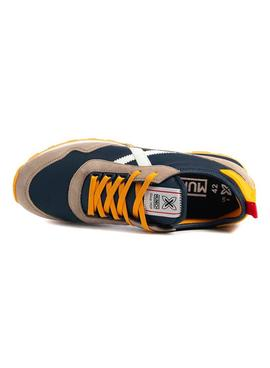 Sneaker Munich UM 17 Blu Navy for Man