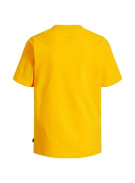 T-Shirt Jack and Jones Viking Yellow Boy