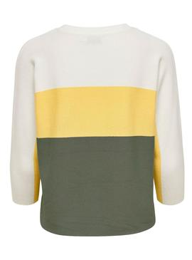Sweater Only Regitze Green for Woman