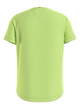 T-Shirt Tommy Hilfiger Essential Green for Girl
