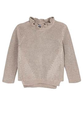 Sweater Mayoral Topo Beige for Girl