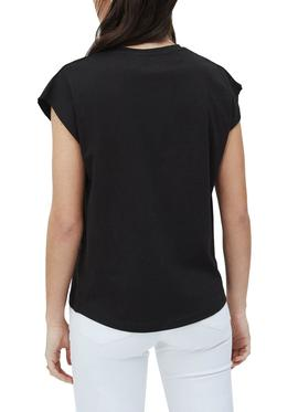 T-Shirt Pepe Jeans Bloom Black for Woman