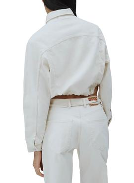 Jacket Pepe Jeans Tiffany White for Woman