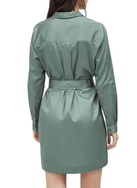 Dress Pepe Jeans Carlotty Green for Woman