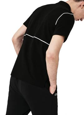 Polo Lacoste SPORT Ultra Soft Black for Man