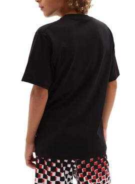 T-Shirt Vans Classic Logo Black for Boy