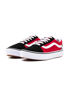 Sneaker Vans Comfycush Old Skool Red