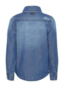 Shirt Name It Brysen Denim Blue